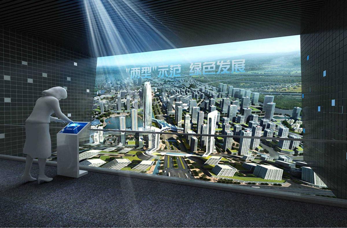 吉阳交通安全城市规划电子数字沙盘
